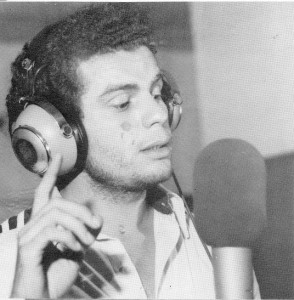 Richard Brisson at the microphone, late 1970s. (photo courtesy of CIDIHCA)